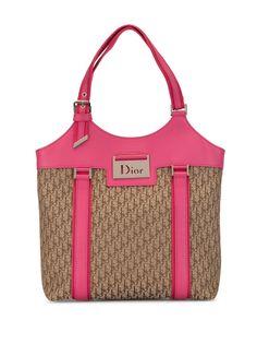 Christian Dior сумка Street Chic с узором Trotter