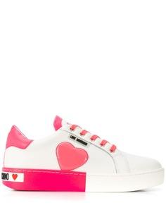 Love Moschino кеды на шнуровке