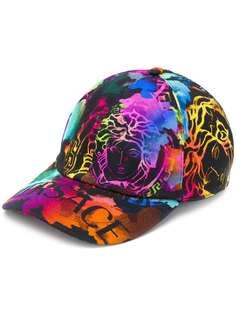 Versace кепка с принтом Medusa