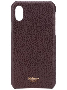 Mulberry чехол для iPhone X/XS с логотипом