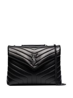 Saint Laurent сумка на плечо LouLou среднего размера