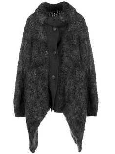 Issey Miyake Pre-Owned пальто 1980-х годов асимметричного кроя