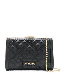 Love Moschino стеганая сумка на плечо с логотипом