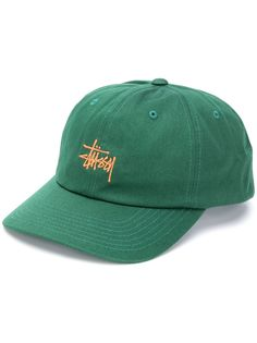 Stussy embroidered-logo cap