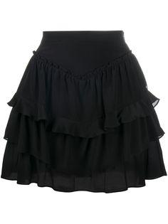IRO юбка мини с оборками