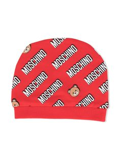 Moschino Kids шапка Teddy Bear