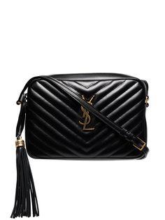 Saint Laurent стеганая каркасная сумка Lou