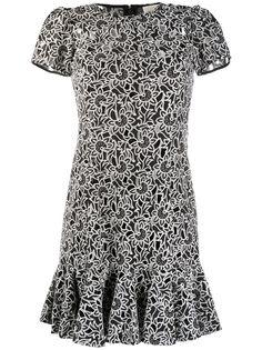 Michael Michael Kors платье с цветочной вышивкой