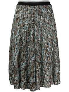 Missoni юбка в технике кроше