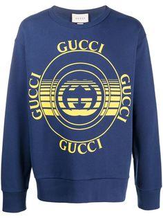 Gucci толстовка с логотипом Interlocking G