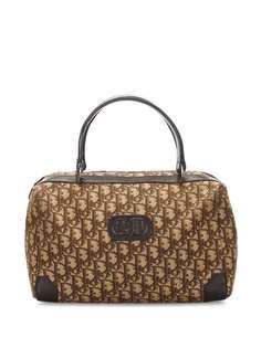 Christian Dior сумка-тоут Boston pre-owned с узором Trotter