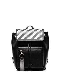 Off-White рюкзак с карманом на молнии