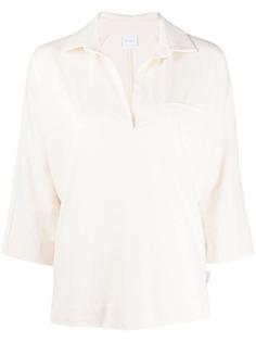 Max Mara рубашка поло с рукавами три четверти