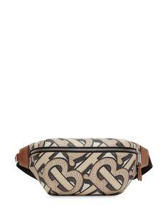 Burberry monogram print Sonny belt bag