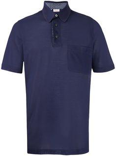 Brioni рубашка поло с короткими рукавами