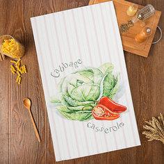 Кухонное полотенце Этель Vegetable, 40х73 см