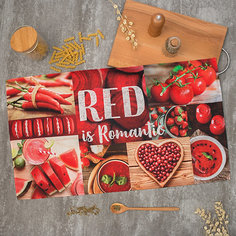 Кухонное полотенце Этель Red, 40х73 см