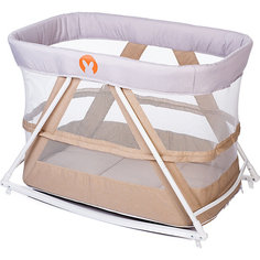 Кровать-колыбель Baby Hit Rocking Crib, бежевая