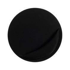 Коврик для мыши luazon, подушка под руку, круглый, черный