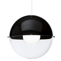 Лампа подвесная orion (koziol) черный 30x30x30 см.
