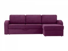 Диван peterhof (ogogo) фиолетовый 282x88x170 см.