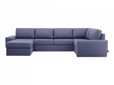 Диван peterhof (ogogo) синий 359x88x201 см.
