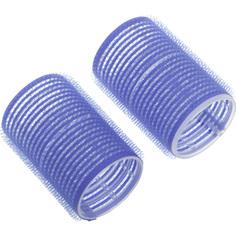 Dewal, Бигуди-липучки, синие, 16 мм