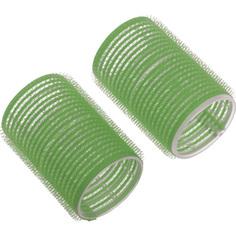 Dewal, Бигуди-липучки, зеленые, 20 мм