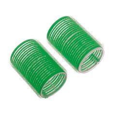 Dewal, Бигуди-липучки, зеленые, 48х63 мм