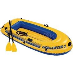 Лодка Intex Челленджер 68367NP, 236х114х41 см