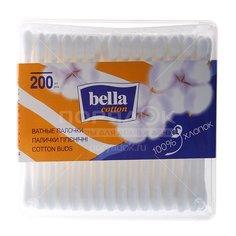 Ватные палочки Bella в коробке, 200 шт