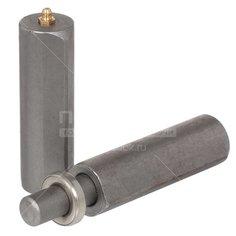 Петля гаражная каплевидная 32 мм, 300 мм для сварки с подшипником 4/12, с масленкой