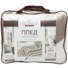 Плед Silvano полутораспальный (150х200 см) микрофибра, Зигзаги sp-39