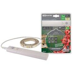 Лента светодиодная TDM Electric Умная подсветка SMD2835-30LED/m-IP20-5В-2,4Вт-3000 К(1 м) SQ0331-0502 с датчиком движения, 1 м