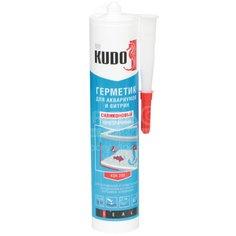 Герметик силиконовый Kudo KSK-200 для аквариумов прозрачный, 280 мл