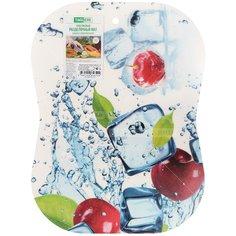 Доска разделочная пластиковая Вишня ПП, 30х40 см