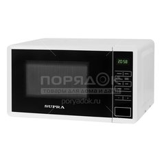 Микроволновая печь Supra 20SW50, 20 л, 0.7 кВт