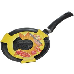 Блинница с антипригарным покрытием Нева Металл Посуда Солнце 6224сл без крышки, 24 см