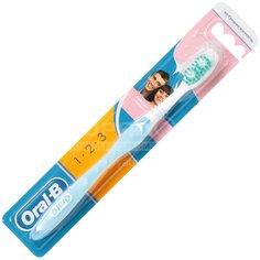 Зубная щетка Oral-B 3-effect Деликатное отбеливание 40 средней жесткости