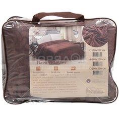 Плед Silvano двуспальный (180х200 см) полиэстер, Коричневый sp-103-2 другие бренды