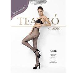 Колготки Teatro Arte микро-сетка melon, р. 1-2