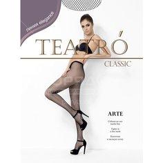 Колготки Teatro Arte микро-сетка melon, р. 3-4