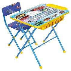 Набор детской мебели Nika Большие гонки КУ2П/15 (стол, стул, пенал)