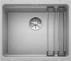 Кухонная мойка Blanco Etagon 500-U InFino жемчужный 522230