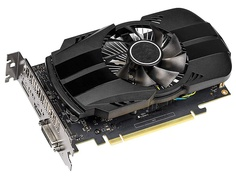 Видеокарта ASUS GeForce GTX 1650 1485Mhz PCI-E 3.0 4096Mb 8002Mhz 128 bit DVI DP HDMI PH-GTX1650-O4G Выгодный набор + серт. 200Р!!!