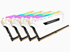 Модуль памяти Corsair DDR4 DIMM 3200MHz PC4-25600 CL16 - 64Gb KIT (4x16Gb) CMW64GX4M4C3200C16W