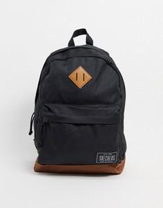 Черный рюкзак с логотипом Skechers-Мульти