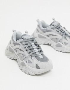 Серые кроссовки Fila Korea Iteration-Серый
