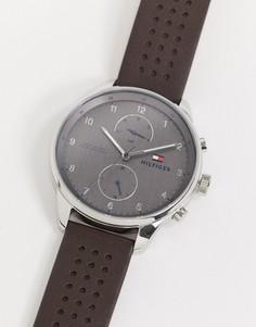 Черные часы Tommy Hilfiger-Черный