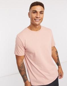 Розовая футболкаTopman-Розовый